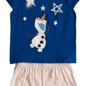 Disney Frozen Yöpuku Dark blue/Light pink