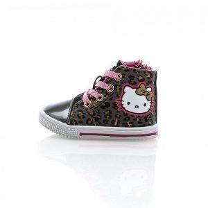 Disney Hello Kitty Leo Korkeavartiset Tennarit Harmaa / Roosa