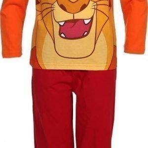 Disney Leijonakuningas Yöpuku Oranssi