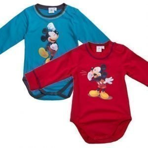 Disney Mickey Mouse Body 2 kpl Blue/Red