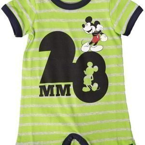 Disney Mickey Mouse Body Lime/Grey