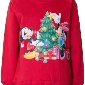 Disney Minne Mouse Collegepusero Red