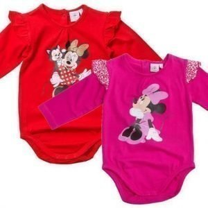 Disney Minnie Mouse Body 2 kpl Pink/Red
