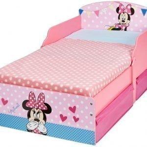 Disney Minnie Mouse Juniorisänky säilytystilalla