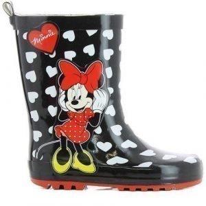 Disney Minnie Mouse Kumisaappaat Musta