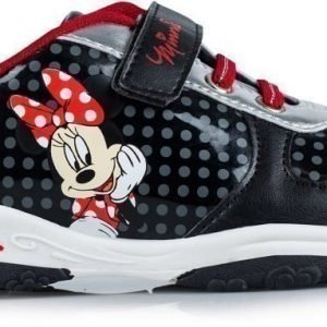 Disney Minnie Mouse Lenkkarit Hopea/musta/vaaleanpun.