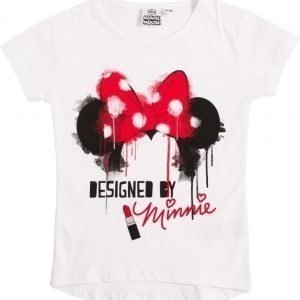 Disney Minnie Mouse Pusero White