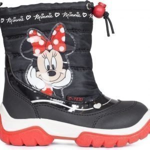 Disney Minnie Mouse Saappaat Musta