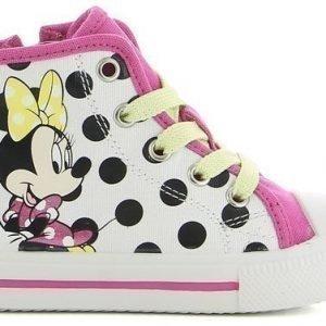 Disney Minnie Mouse Varsitennarit Valkoinen/Pilkullinen