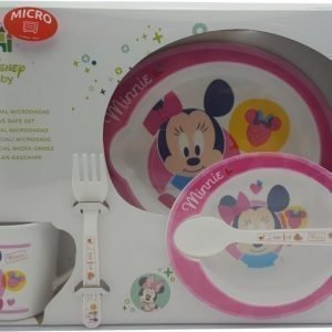 Disney Minnie Mouse Vauvan astiasetti Mikronkestävä 5 osaa