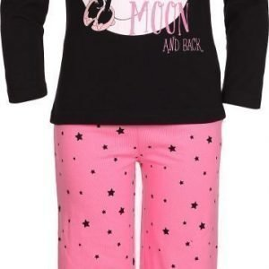 Disney Minnie Mouse Yöpuku Pinkki/Musta