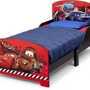 Disney Pixar Cars Juniorisänky 140 x 70 cm Punainen/Musta