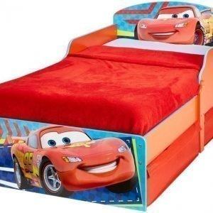 Disney Pixar Cars Juniorisänky säilytystilalla