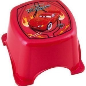 Disney Pixar Cars Kylpyhuoneen jakkara Punainen