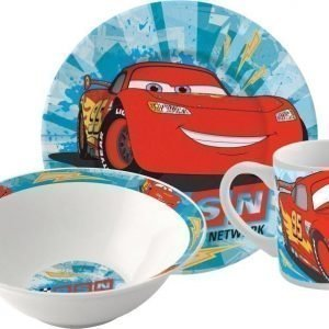 Disney Pixar Cars Lahjasetti 3 osaa Keramiikka
