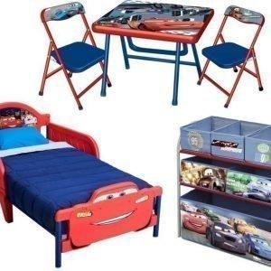 Disney Pixar Cars Makuuhuoneen kalustesetti