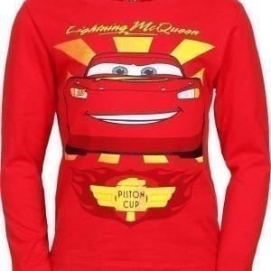 Disney Pixar Cars Pusero Punainen
