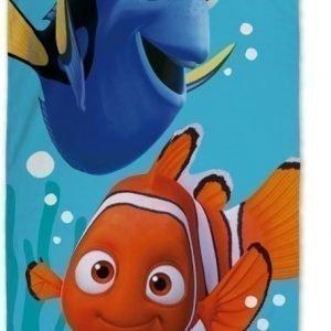 Disney Pixar Finding Dory Kylpypyyhe 70 x 140 cm Sininen
