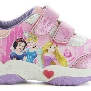 Disney Princess Lenkkarit Vilkkuva pohja Vaaleanpunainen