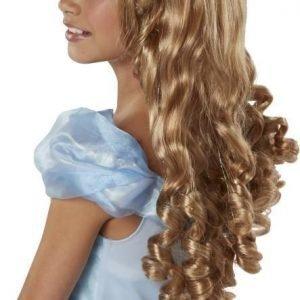 Disney Princess Peruukki kiharoilla Tuhkimo