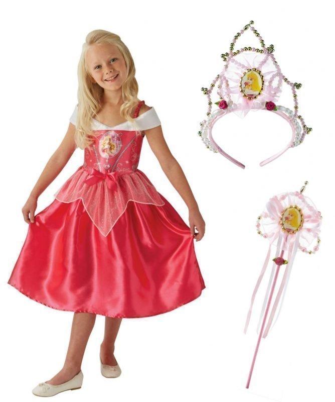 Disney Prinsessat Naamiaisvaatteet Kengät Prinsessa Ruusunen