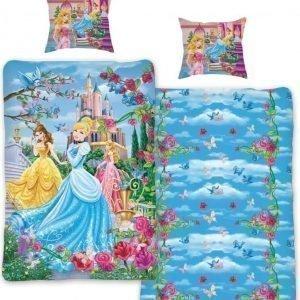 Disney Princess Pussilakanasetti 150 x 210 cm Sininen