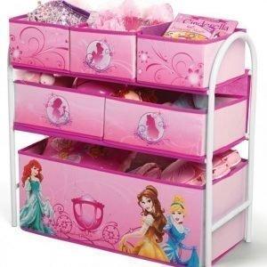 Disney Princess Säilytyshylly 6 laatikkoa Metallia