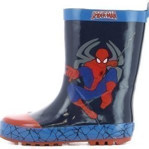 Disney Spiderman Kumisaappaat Tummansininen