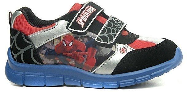 Disney Spiderman Urheilutossut Musta/hopea/punainen