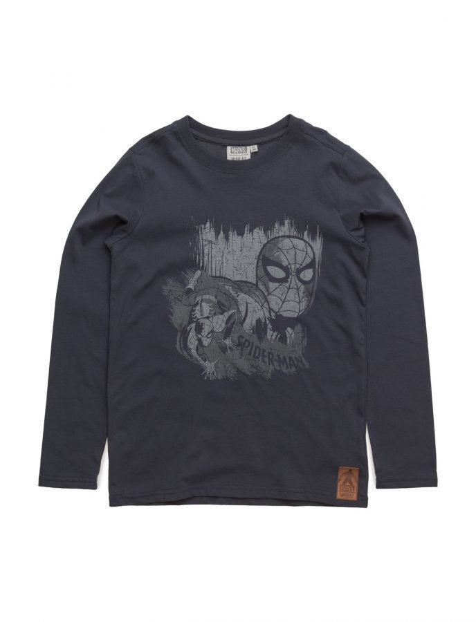Disney by Wheat T-Shirt Spiderman Wall