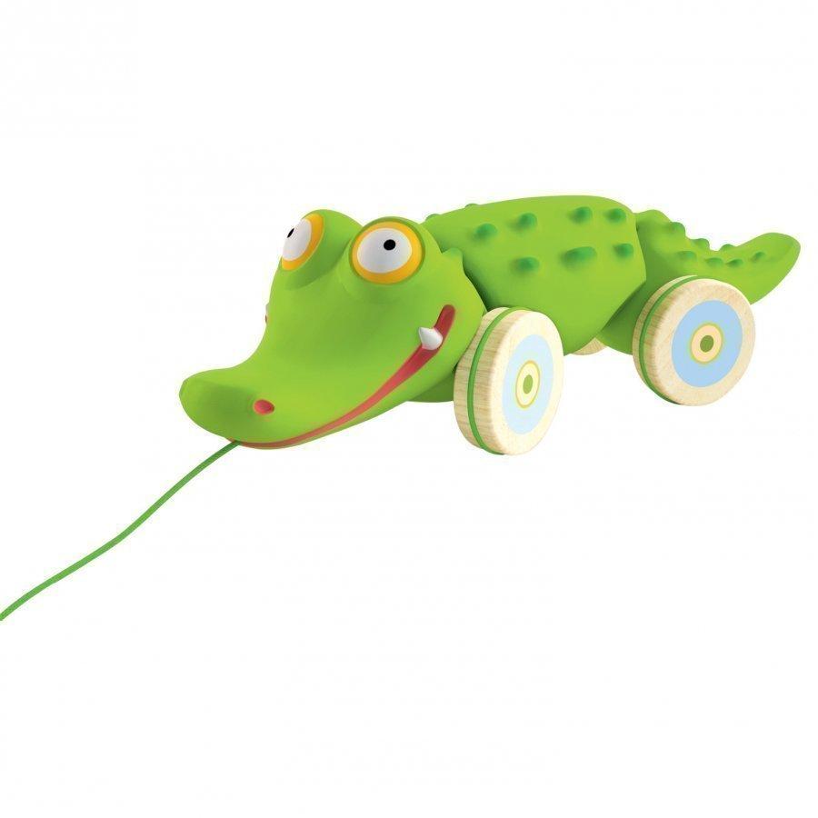 Djeco Croc' N' Roll Pull Along Toy Vetolelu