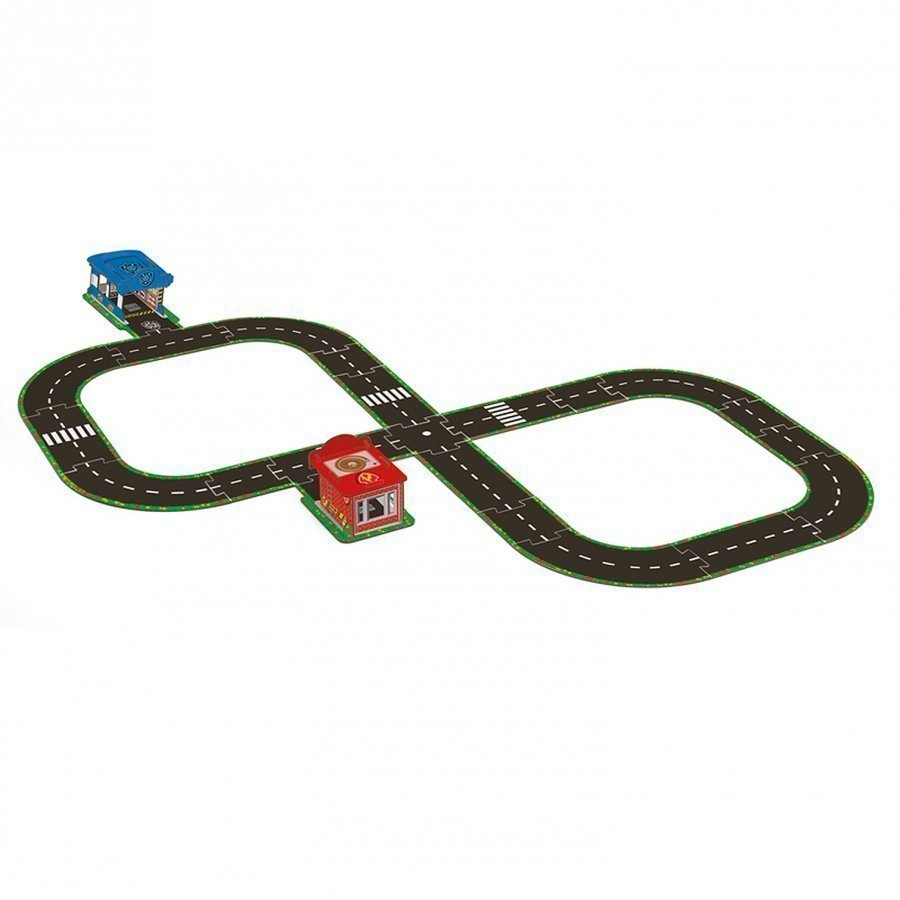 Djeco Hit The Road Pop To Play Road Circuit Aktiviteettipeli