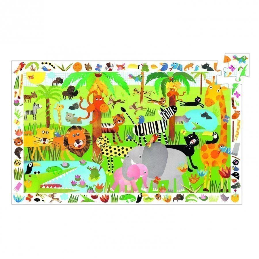Djeco Jungle Observation Puzzle 35 Pcs Palapeli