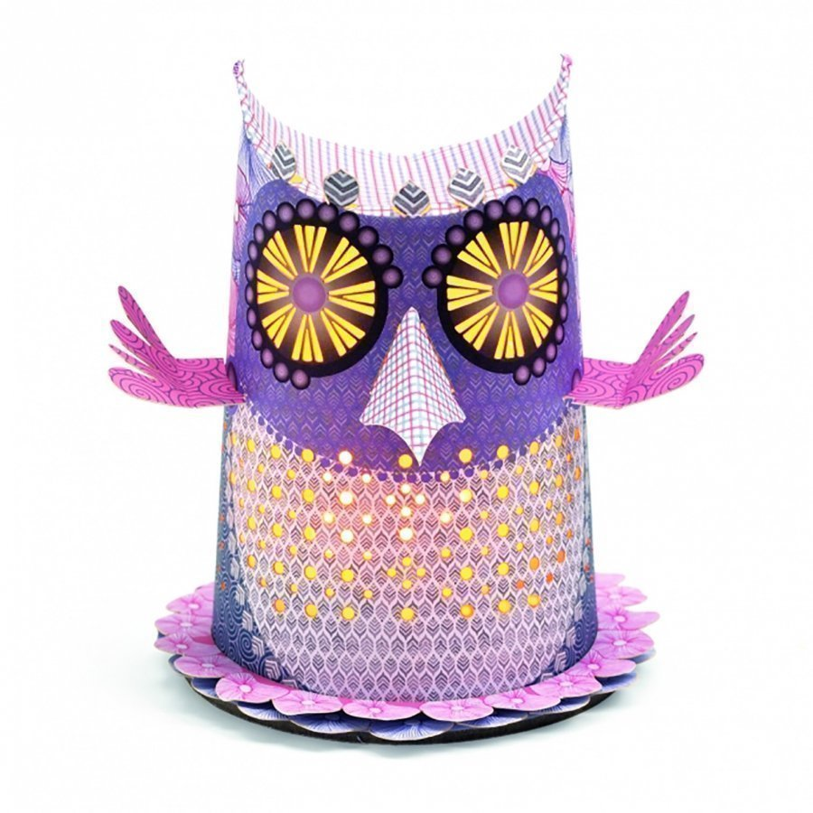 Djeco Owl Mini Night Light Pöytävalaisin