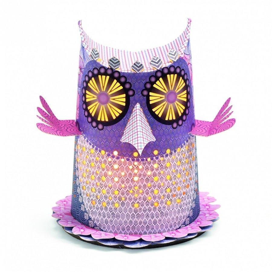 Djeco Owl Mini Night Light Pöytävalaisin