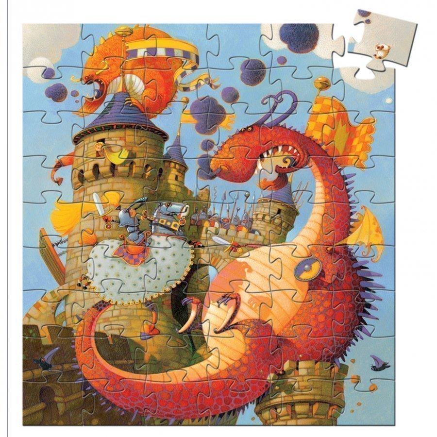 Djeco Valliant And The Dragon Palapeli