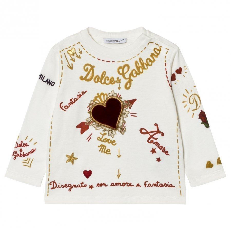 Dolce & Gabbana Amore E Fantasia Top T-Paita