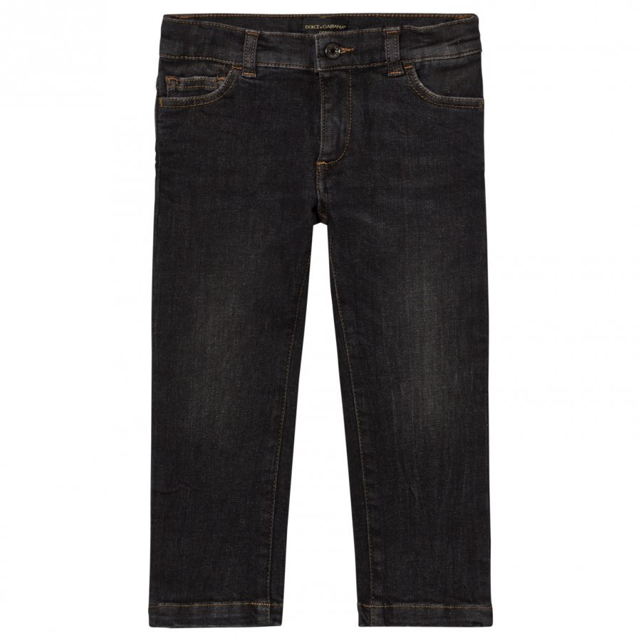 Dolce & Gabbana Charcoal Slim Jeans Farkut