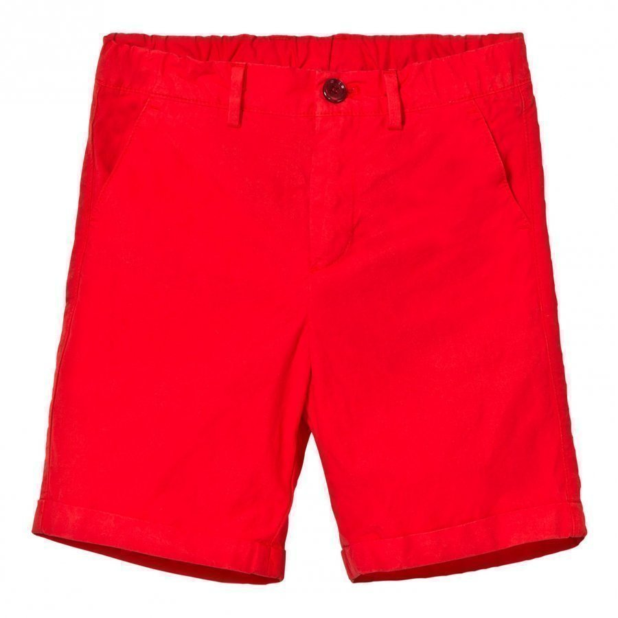 Dolce & Gabbana Red Chino Shorts Shortsit