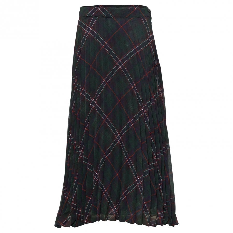 Dondup Skirt Tartan Green/Red/Blue Midihame