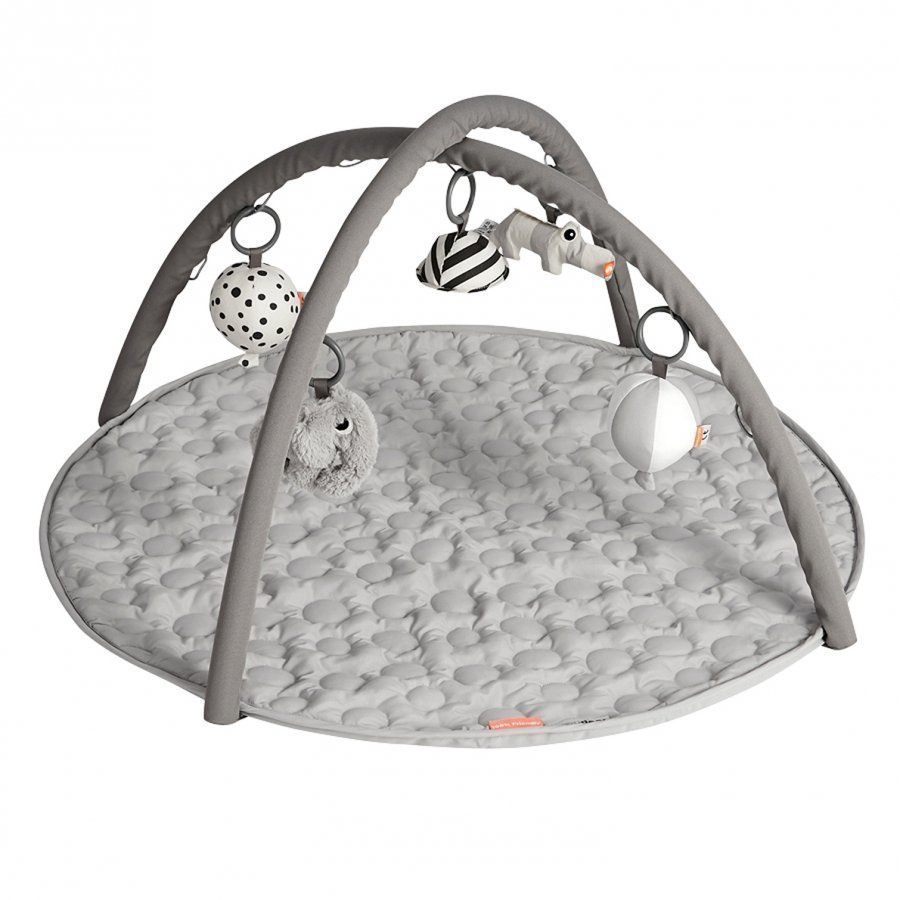 Done By Deer Activity Play Mat Grey Leikkimatto