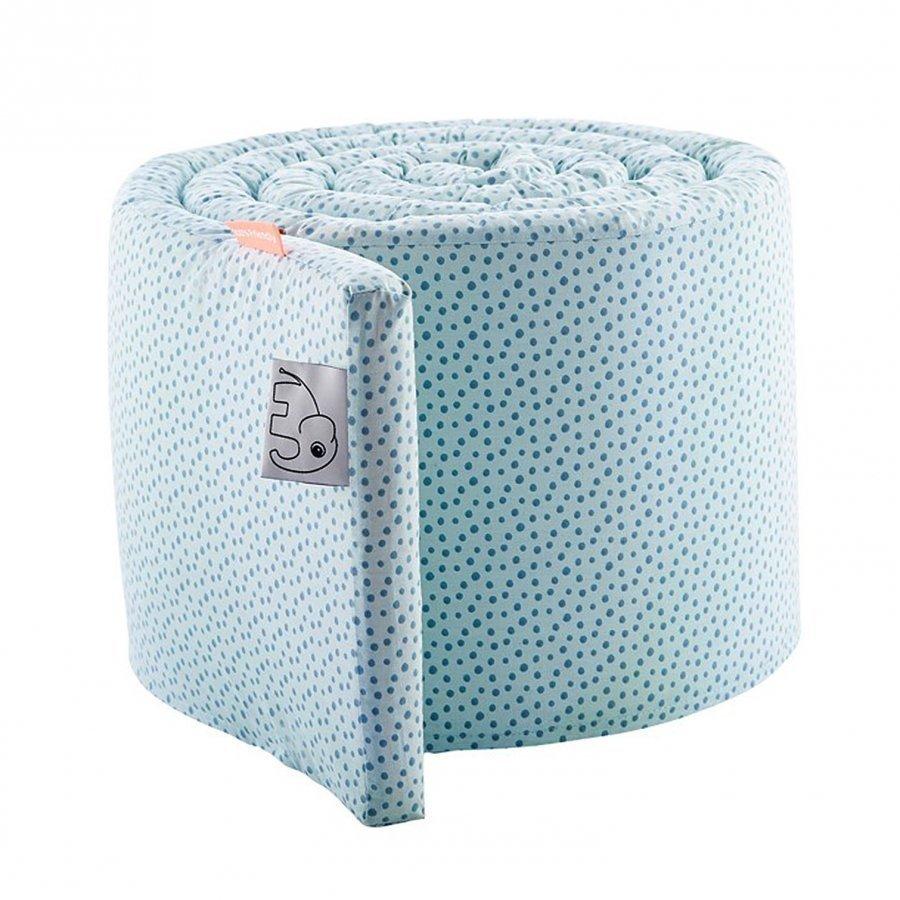 Done By Deer Bed Bumper Happy Dots Blue Pinnasängyn Suoja