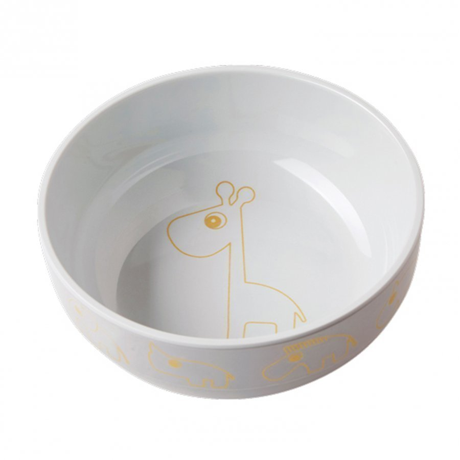 Done By Deer Contour Yummy Bowl Gold/Grey Kulho