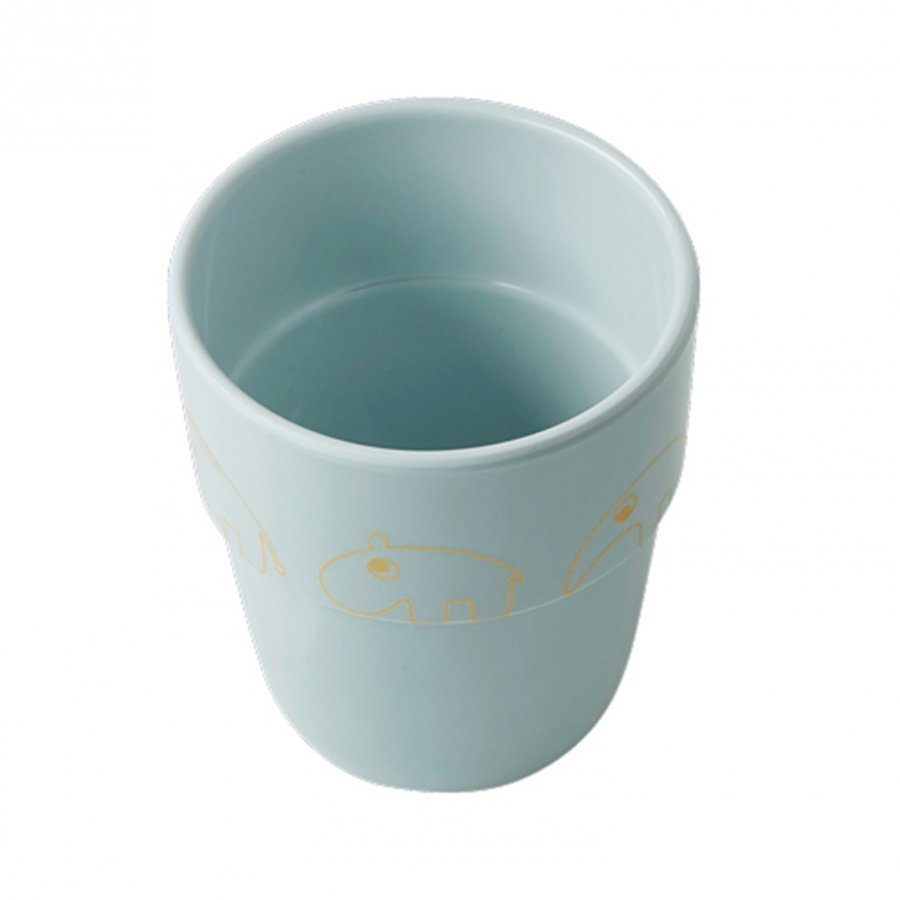Done By Deer Contour Yummy Mug Gold/Blue Muki