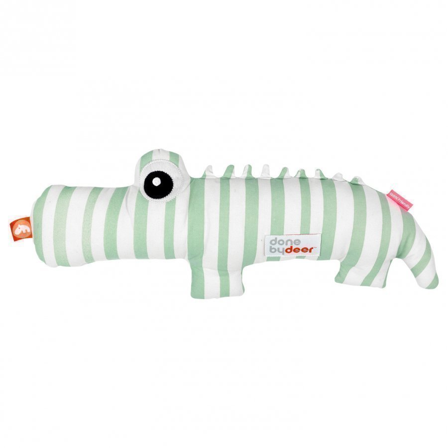 Done By Deer Croco Soft Toy Green Pehmolelu