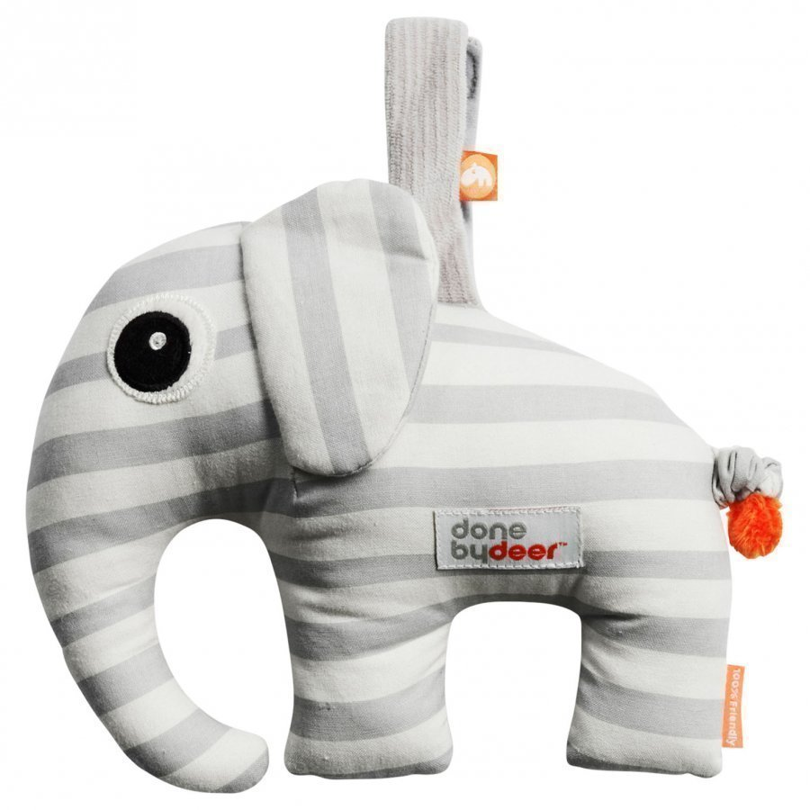 Done By Deer Elphee Musical Toy Grey Mobile