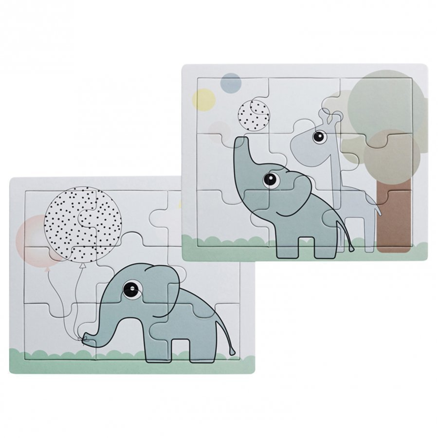 Done By Deer Elphee & Raffi Puzzle 2-Pack Palapeli