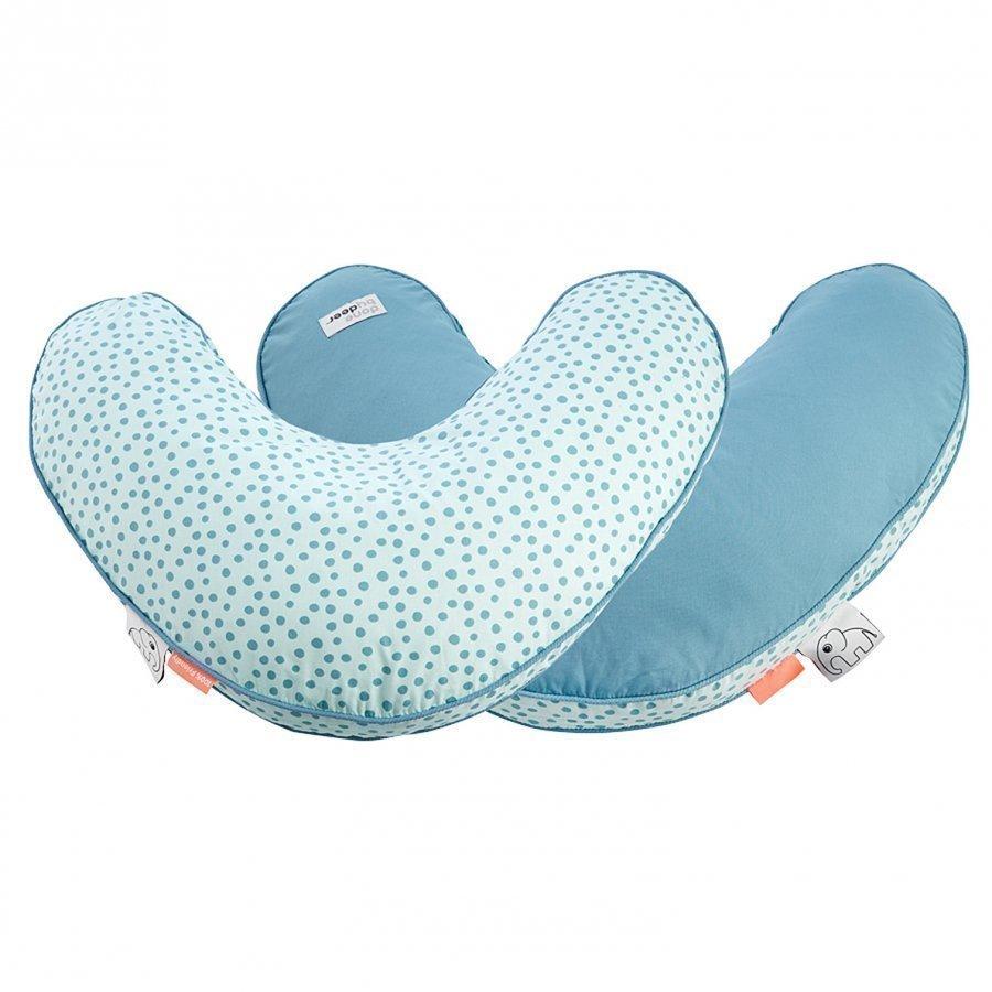 Done By Deer Happy Dots Nursery Pillow Blue Imetystyyny