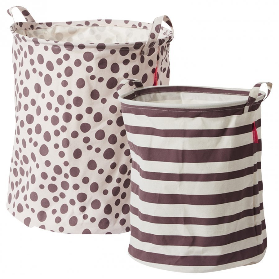 Done By Deer Soft Storage Basket 2 Pieces Powder Säilytyskori