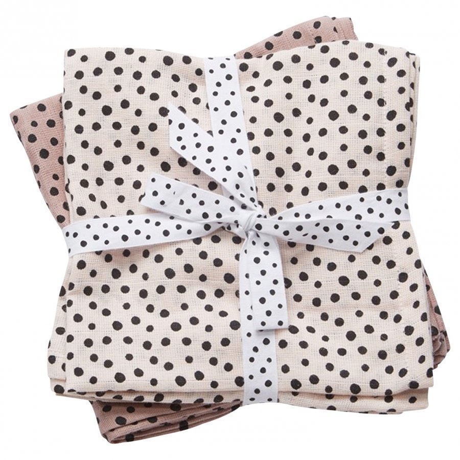 Done By Deer Swaddle 2-Pack Happy Dots Powder Huopa